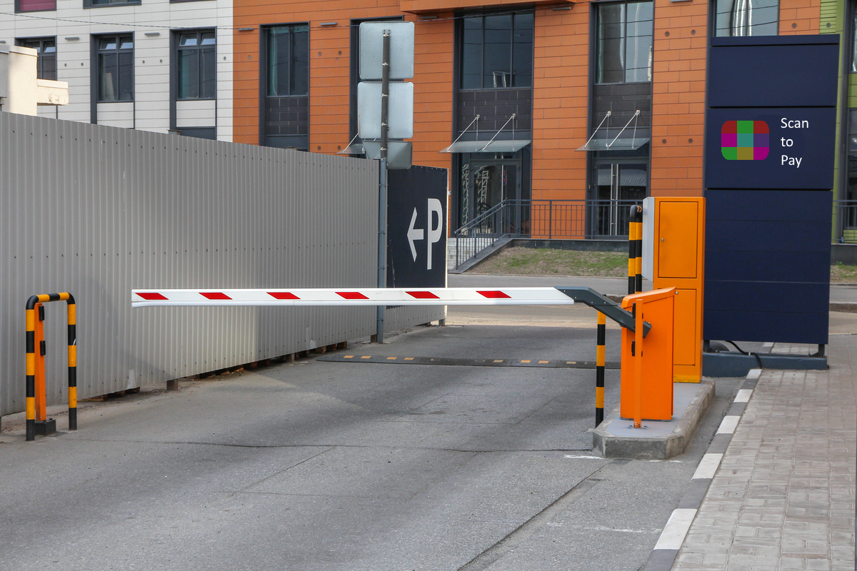 Automated Parking Entrance