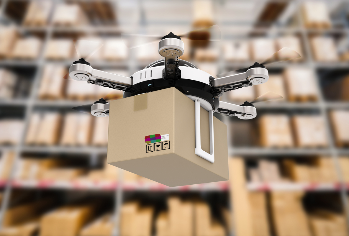 Logistics with Drone